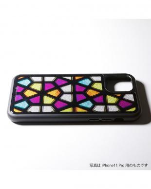 ステンドグラス3 Hybrid Case Etanze for iPhone 11Pro 対応 ハイブリッドケースを見る