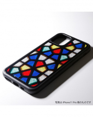 ステンドグラス1 Hybrid Case Etanze for iPhone 11 対応 ハイブリッドケースを見る