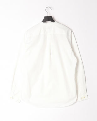 WHITE LOOSE FITBAND COLLAR SHTを見る
