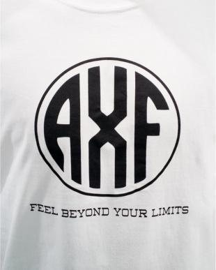 WHITE×BLACK メンズ 丸AXFロゴ半袖Teeを見る