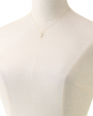 ホワイト K10エチオピアオパール ネックレスを見る