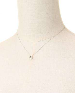 Pt900/Pt850 PT 天然ダイヤモンド 0.13ct アローダンシング プラチナネックレスを見る