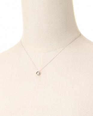 Pt900/Pt850 PT 天然ダイヤモンド 0.08ct ドロップダンシング プラチナネックレスを見る