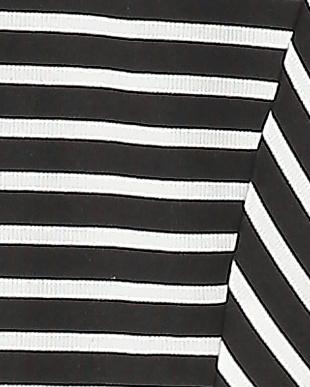 ブラック falsetto 袖異素材コンビネーションプルオーバーを見る
