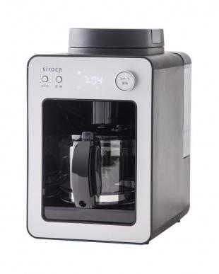 シルバー [箱破損]siroca 全自動コーヒーメーカー カフェばこ SC-A351(S)を見る