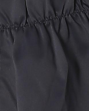 68/青系I(ネイビー) ギャザーアクセント バルーンスリーブ 七分袖ブルゾンを見る