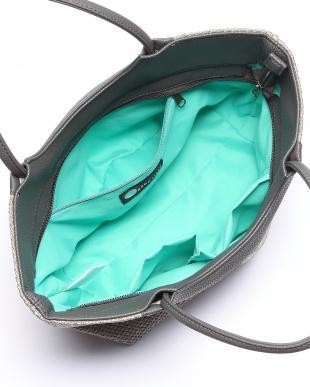 ライトグレー*カーボングレー かごバッグを見る