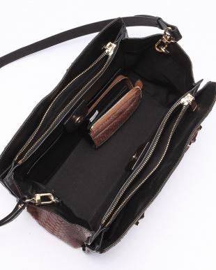 ブラウン パイソンバッグ/財布セットを見る
