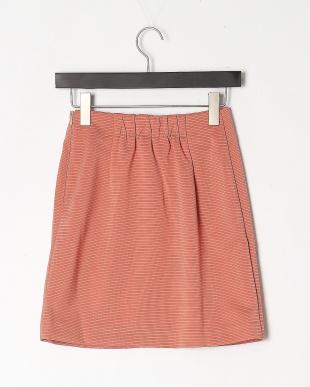 PI マルチビジュー釦リップル台形スカートを見る