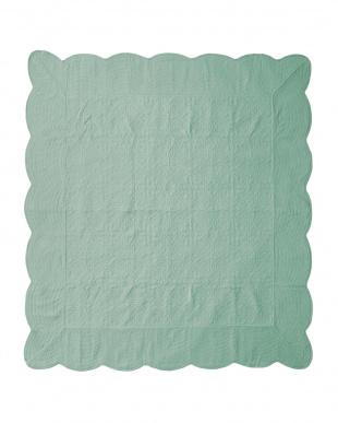 ターコイズ タオル素材でさらさら綿パイルマルチカバー 190×240cmを見る