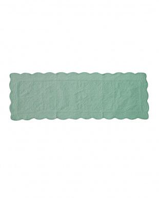 ターコイズ タオル素材でさらさら綿パイルソファカバー 50×150cmを見る
