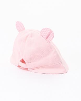 ピンク 帽子を見る