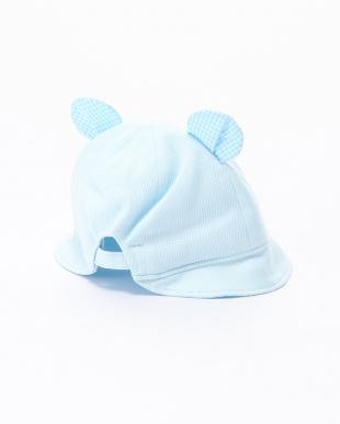 ブルー 帽子を見る