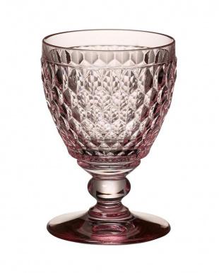 ピンク ボストン ワイングラス 4個セットを見る