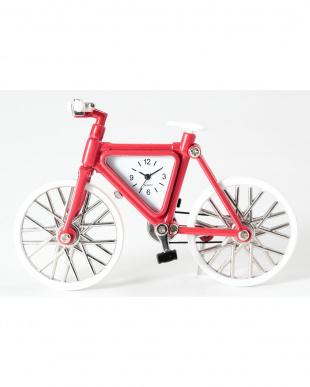 自転車 ミニチュアクロックを見る