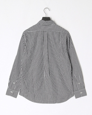 BLACK 100/2 GINGHAM BD SHT/Bulging Fitを見る
