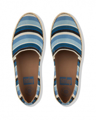 BLUE STRIPEY CASA LOAFERSを見る