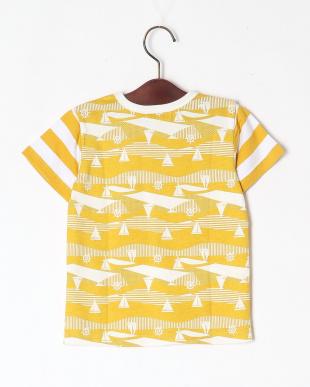 イエロー マリン総柄Tシャツを見る