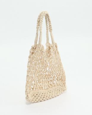 NATURAL 手編みバッグを見る