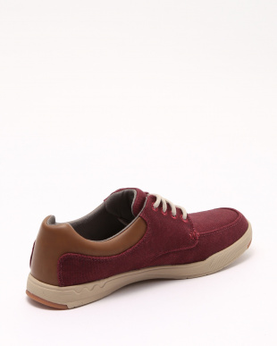 Burgundy Canvas Step Isle Laceを見る