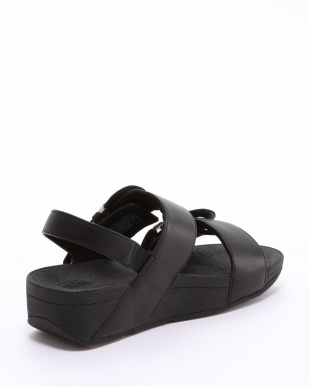 Black AMALITA BUCKLE BACK-STRAP SANDALSを見る
