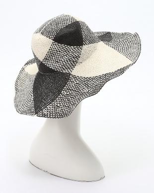 ブラック アンダリ ソラーナ チェック HATを見る