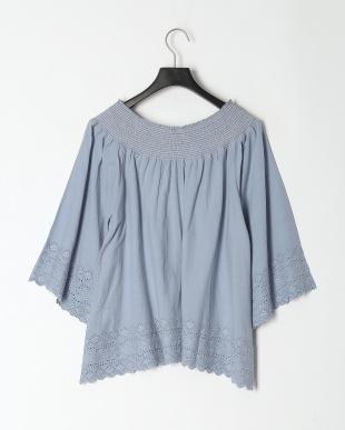 L.BLUE コットン シャツを見る