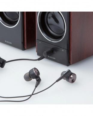 ブラック 「木のスピーカー」 5W/USB電源を見る