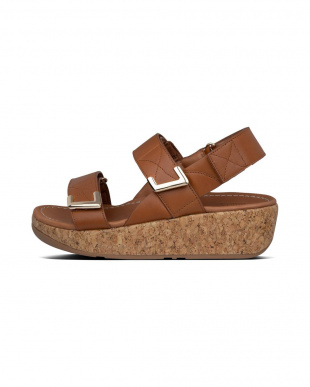 LIGHT TAN REMI ADJUSTABLE BACK-STRAP SANDALSを見る