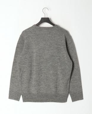 Heather Gray DickiesロゴジャカードルーズフィットL/Sセーターを見る