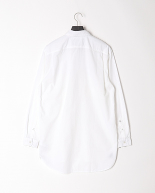 White AF LS Suncook River long lenght solid shirtを見る