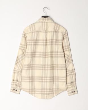 White Smoke YD AF LS Back River Heavy Flannel Check Shirt Regularを見る
