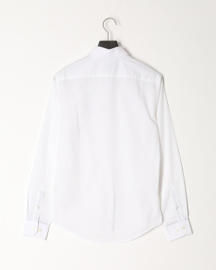 White AF LS Eastham River Stretch Poplin Solid Shirt Fittedを見る