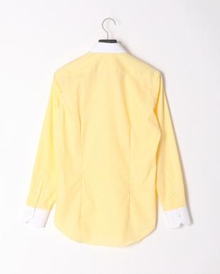 YELLOW セミワイドクレリックタブカラーシャツを見る