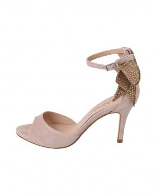 パウダーピンク [MARIAN]02-back ribbon bijou sandalsを見る