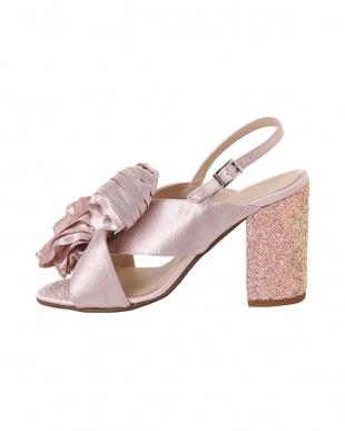 ピンク [KONTESSA]01-BIG ribbon B.S. sandalsを見る
