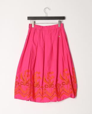 pink スズランレーススカートを見る