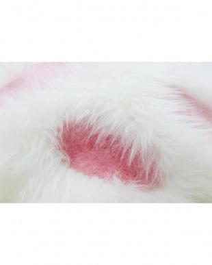 ホワイト×ピンク クッションを見る