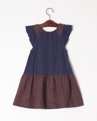 コン リス刺繍ジャンパースカートを見る