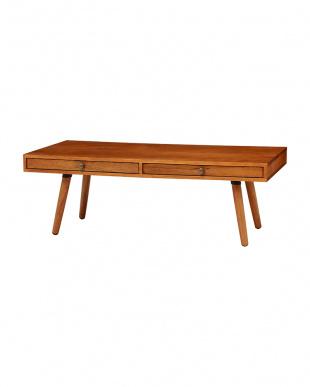 引出し付きローテーブル 110×50×38cmを見る
