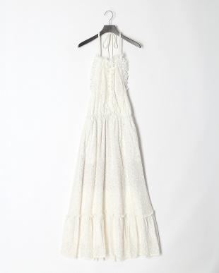 WHT ホルターレースドレスを見る