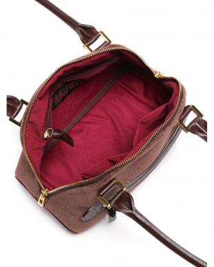 ミディアムブラウン ワーキングウーマンユニ ミニボストン型バッグを見る