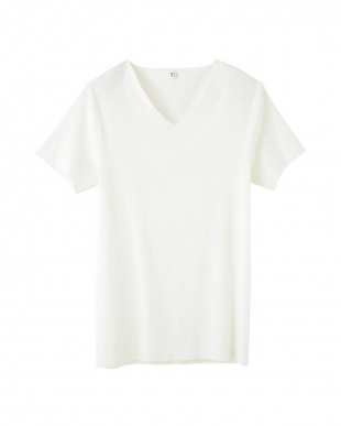 オフホワイト VネックTシャツ×2点SETを見る