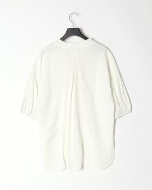 90/無彩色A(ホワイト) 異素材スキッパーPOを見る
