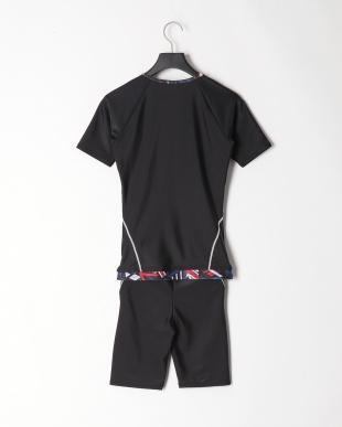 MIX 無地フルジップ袖付きタンキニ水着を見る