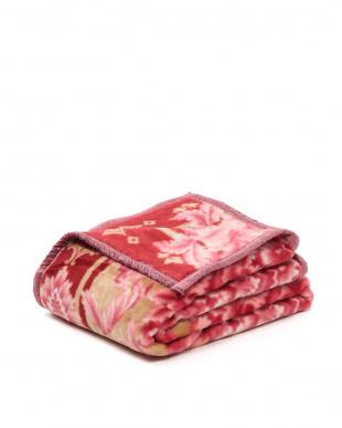 ピンク 日本製ニューマイヤー毛布シングルを見る