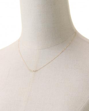 18YG 18金イエローゴールド ダイヤモンド ネックレス 0.1ctを見る