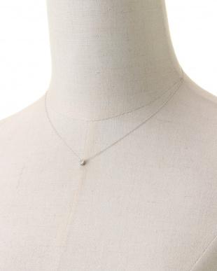 PT ダイヤモンド ネックレス 0.1ctを見る