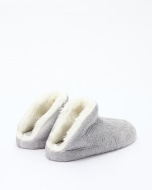 グレイ シャギーWフェイス靴・スリッパ・Rシューズを見る