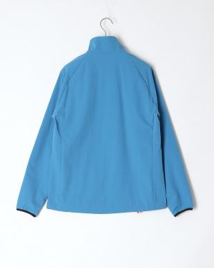 ブルー 光電子FOURONライトストレッチジップジャケットを見る